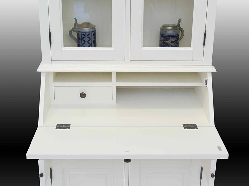 Schreibtisch aufklappbar mit herausziehbaren Stützen