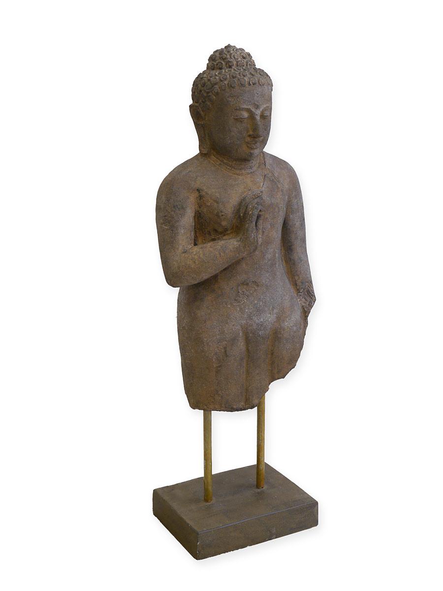 Buddha Chakra aus Betonguss