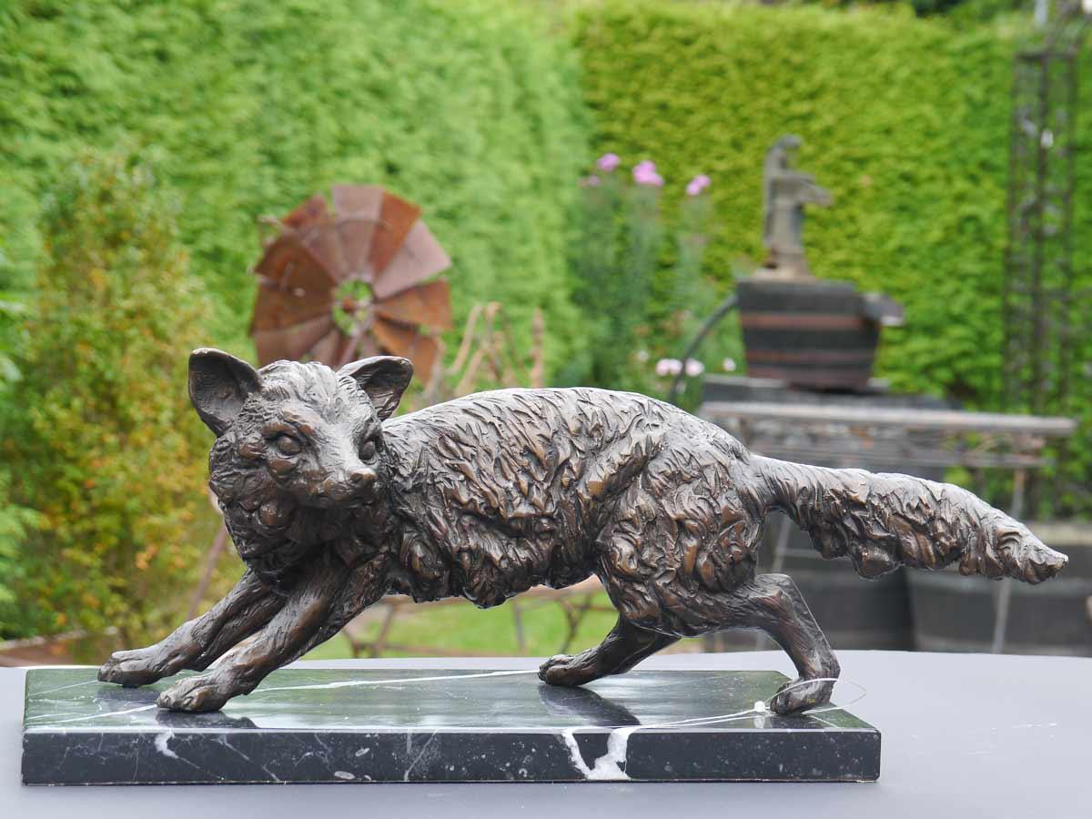 Wunderschöne Figur eines Fuchs