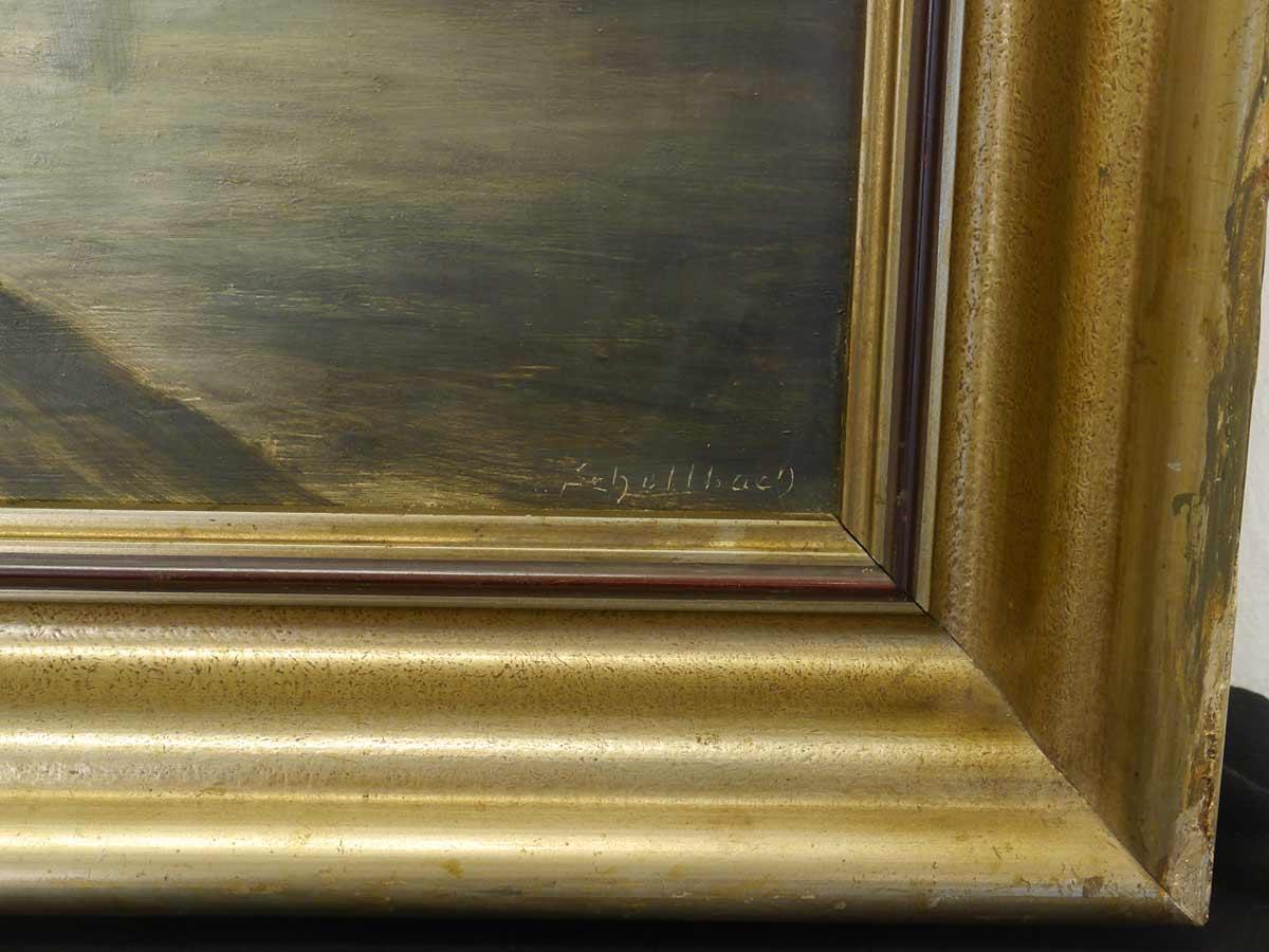 Gemälde Wassermühle