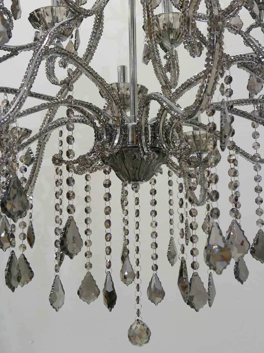 kristallleuchter kronleuchter h ngelampe 18 flammig smocky 4039 lampen deckenleuchten. Black Bedroom Furniture Sets. Home Design Ideas