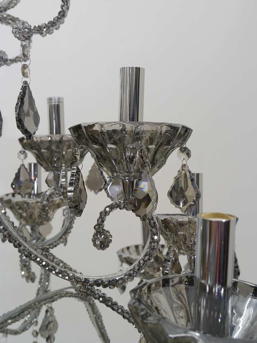 Kristalllüster Nahaufnahme