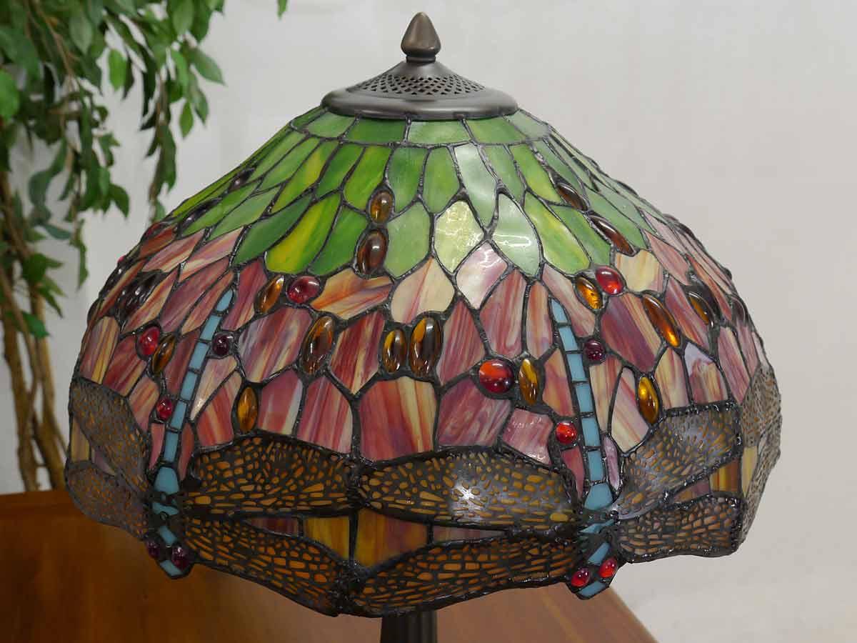 Stehlampe Detailansicht vom Lampenschirm