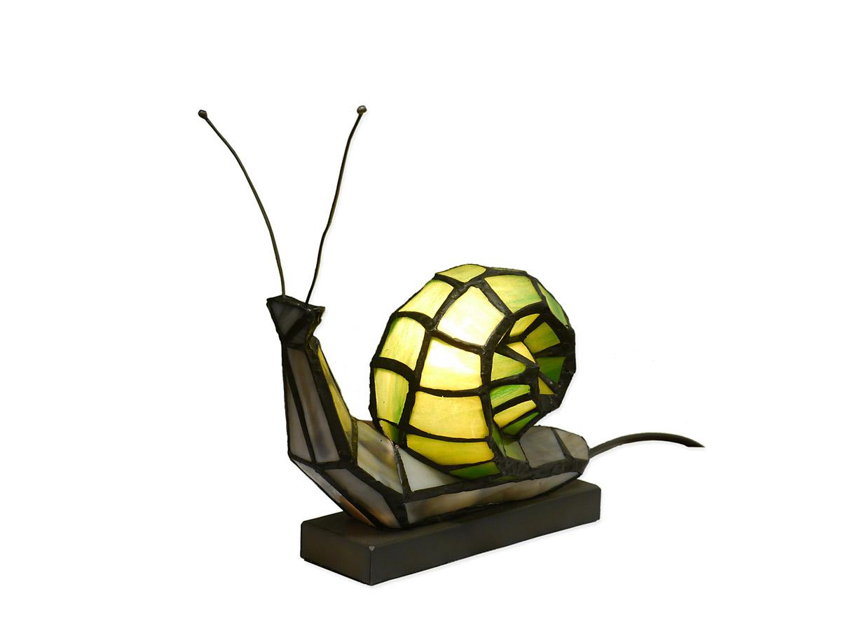lampe leuchte tischlampe tischleuchte im tiffany stil schnecke 4091 lampen tischlampen. Black Bedroom Furniture Sets. Home Design Ideas