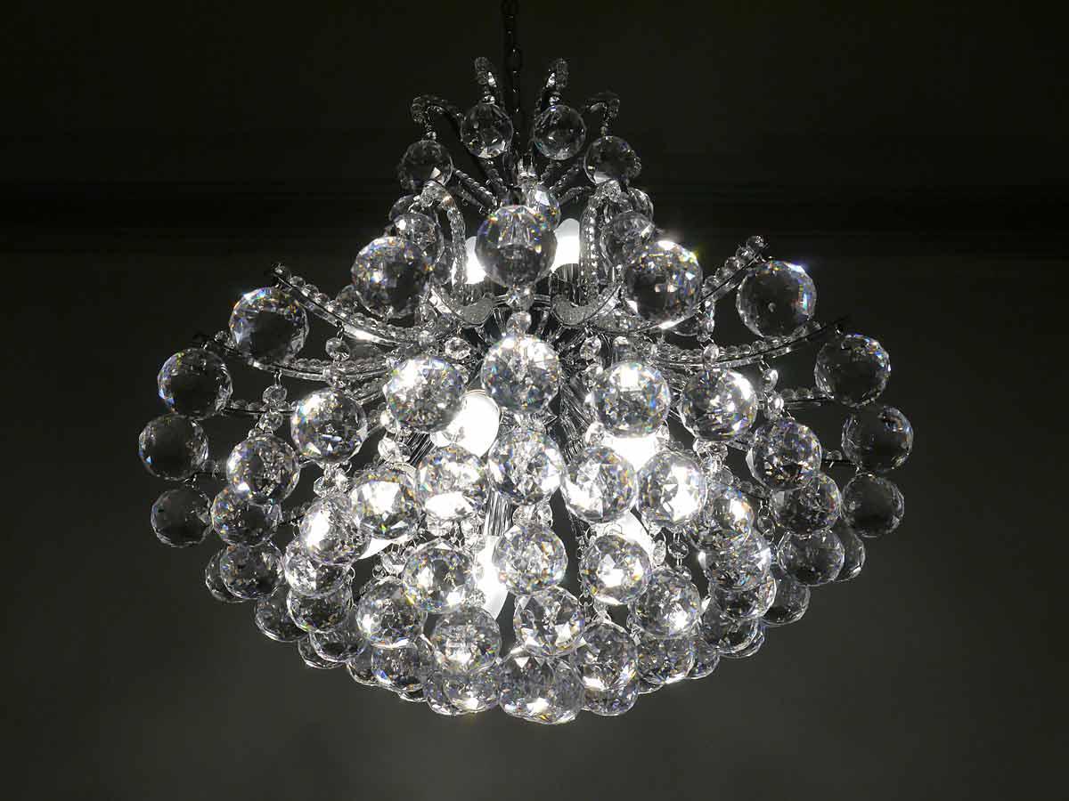 kristalllampe Detailansicht