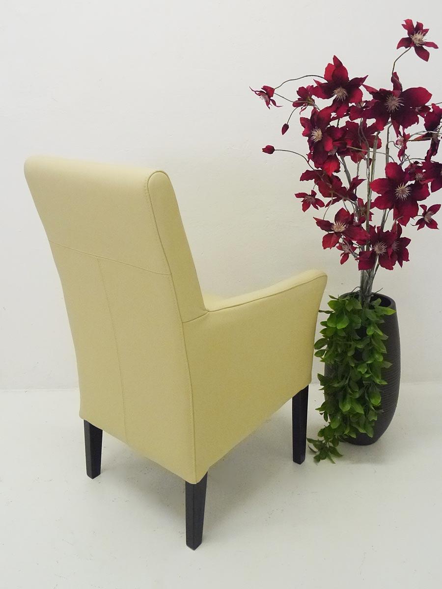 armlehnstuhl stuhl polsterm bel edles design massivholz echt leder polar 4106 m bel sitzm bel. Black Bedroom Furniture Sets. Home Design Ideas