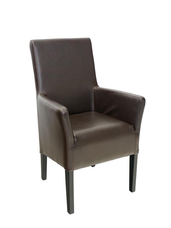 stuhl armlehnstuhl polsterm bel edles design massivholz echt leder 4120 m bel sitzm bel b rost hle. Black Bedroom Furniture Sets. Home Design Ideas