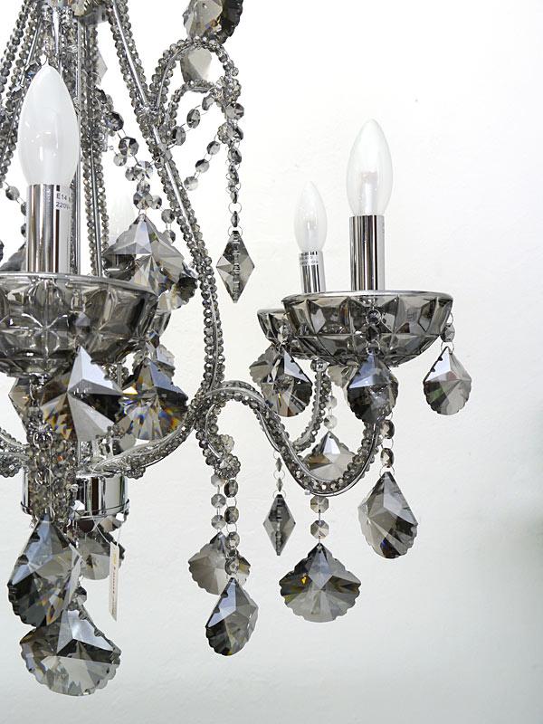 Kristallleuchte Nahaufnahme