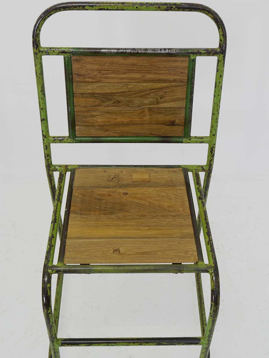 Stuhl Lehnstuhl Sitzmöbel Vintage Im Retro Design Aus