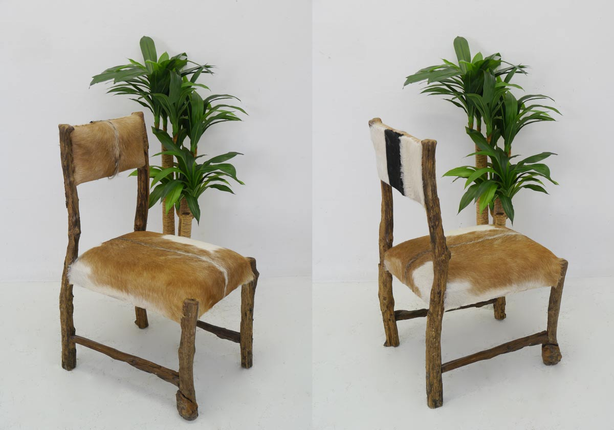 stuhl 6 st hle stuhlgruppe esszimmerst hle aus massivholz ziegenfell 4236 m bel sitzm bel. Black Bedroom Furniture Sets. Home Design Ideas