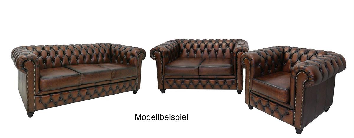 couch sofa ledersofa 2 sitzer chesterfield design leder in antik kupfer 4343 m bel sitzm bel. Black Bedroom Furniture Sets. Home Design Ideas