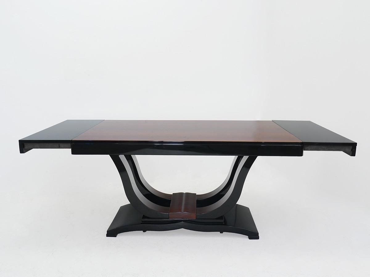 tisch esstisch kulissentisch franz sisches art deco um 1925 hochglanz 4353 tische esstische. Black Bedroom Furniture Sets. Home Design Ideas