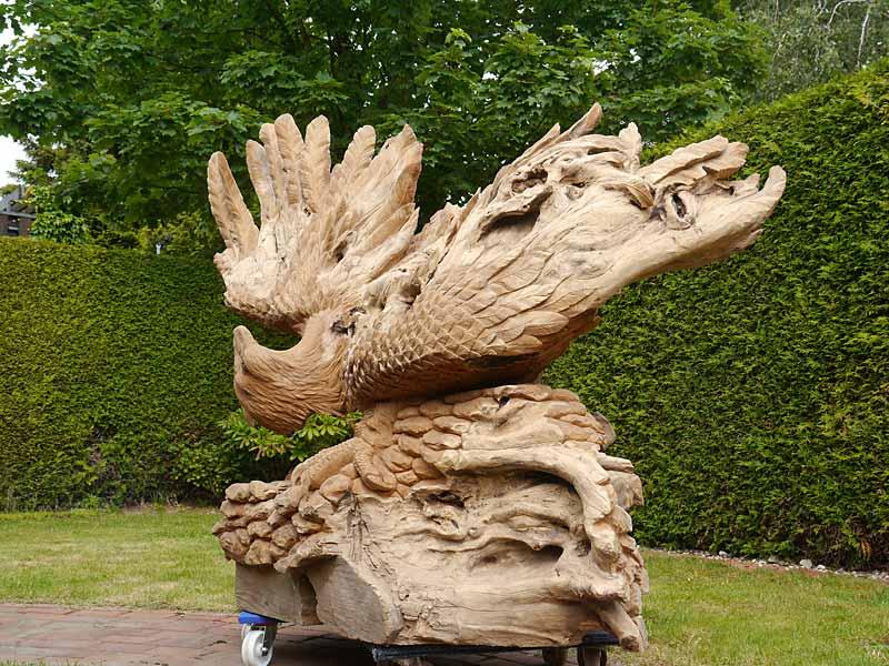Holzskluptur