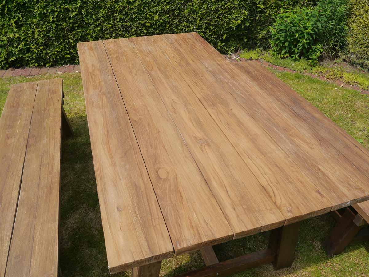 Detailansicht Tischoberfläche