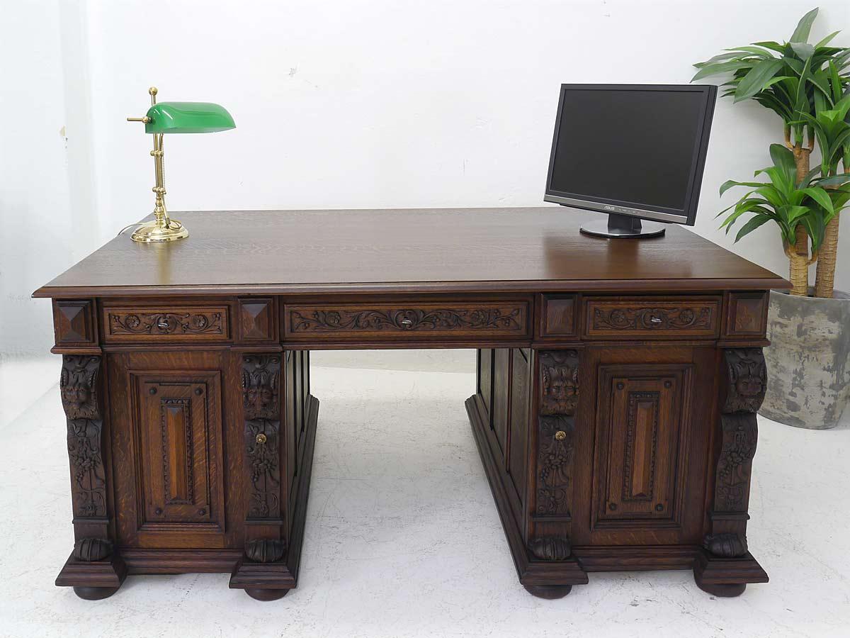 Schreibtisch Eiche Massiv 2021