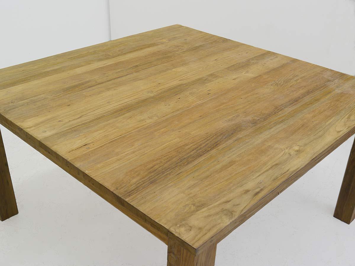 Details zu Tisch Esstisch Esszimmertisch Teakholz massiv 4 8 Personen 80x150x150 cm (4488)