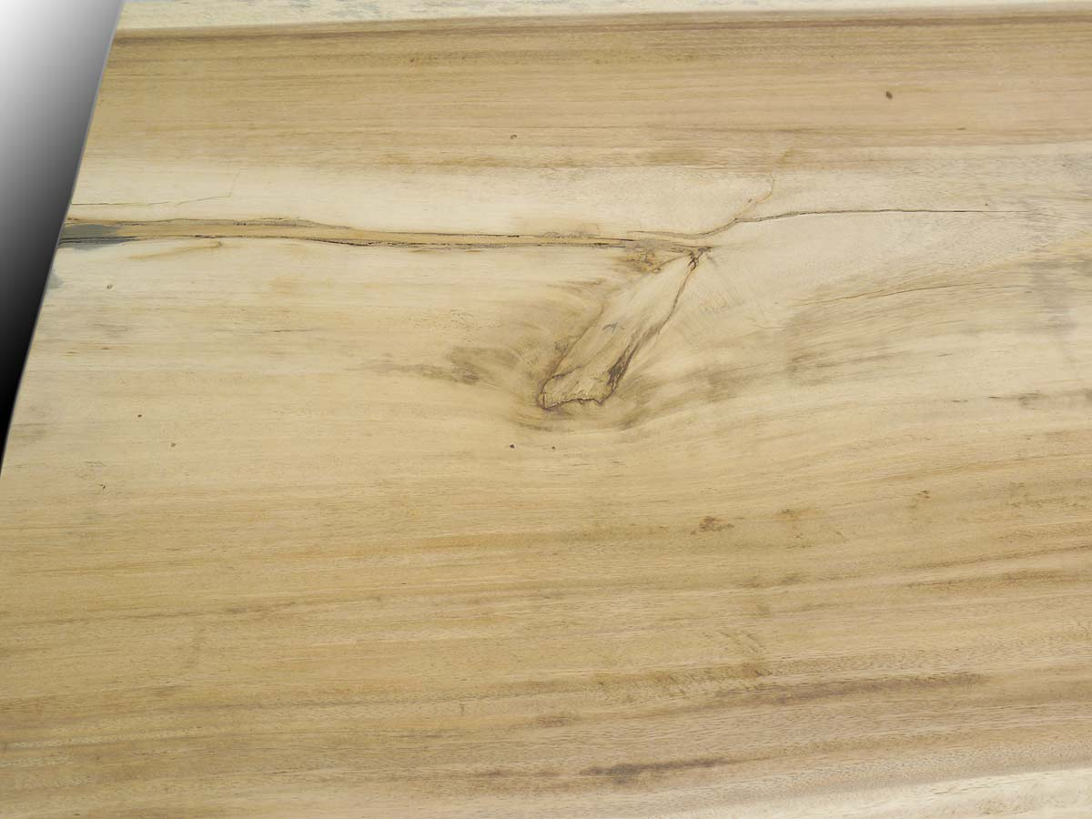 Holztisch Nahaufnahme