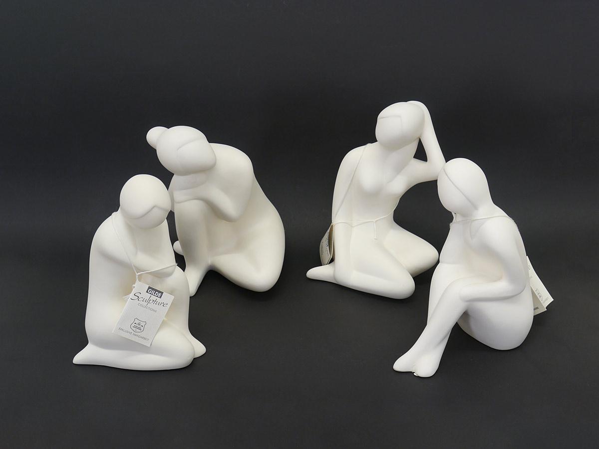 4 Gilde Skulpturen