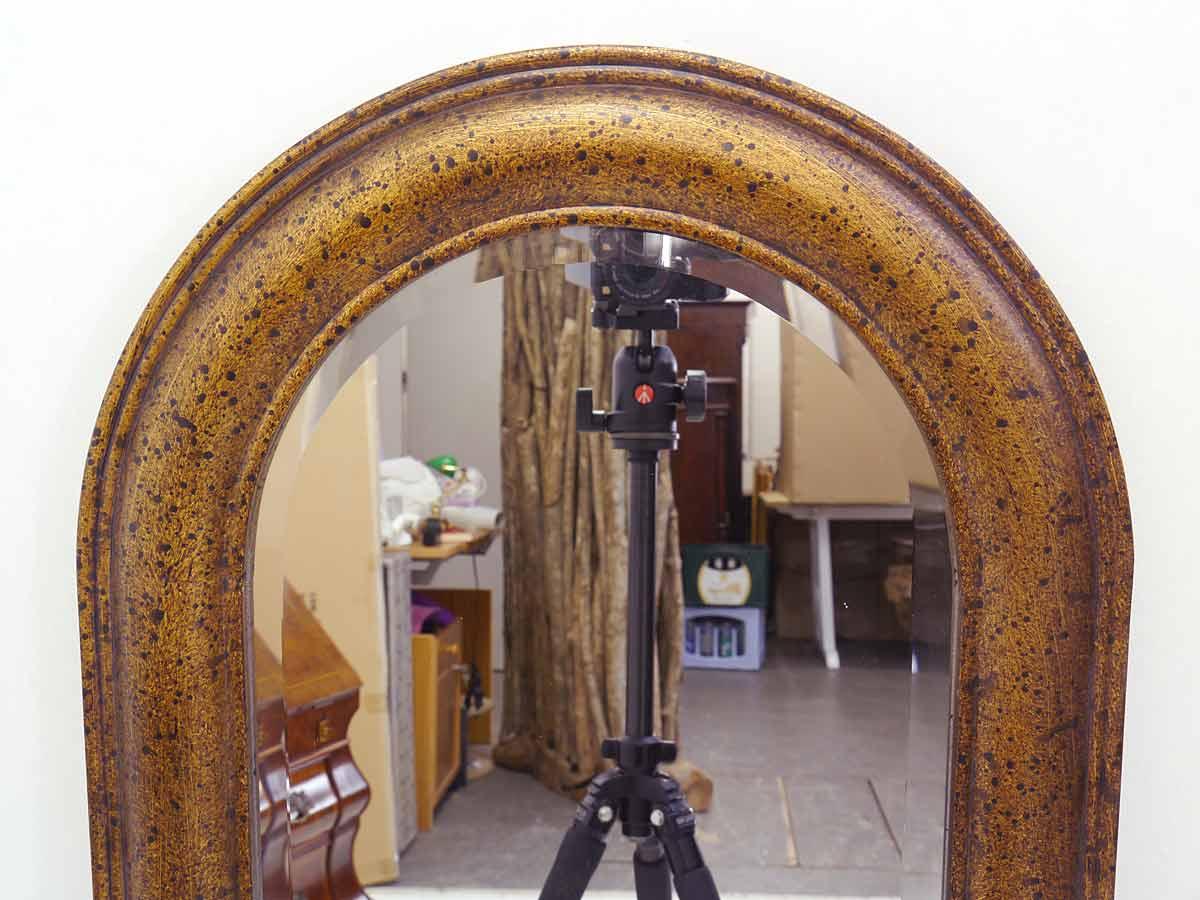 spiegel wandspiegel garderobenspiegel im antiken stil kupferfarbig 4515 dekoration und. Black Bedroom Furniture Sets. Home Design Ideas