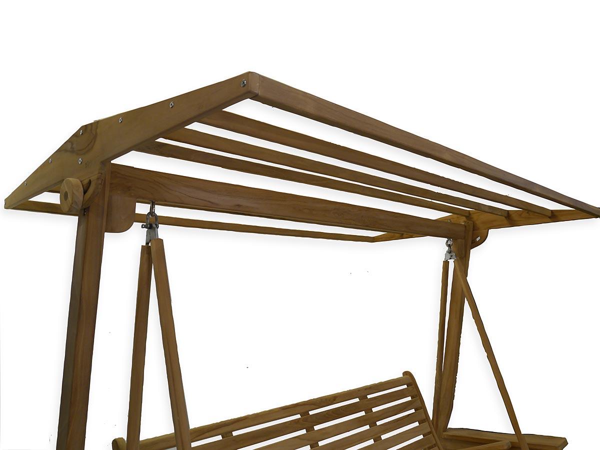 Detailansicht Dach Schaukel