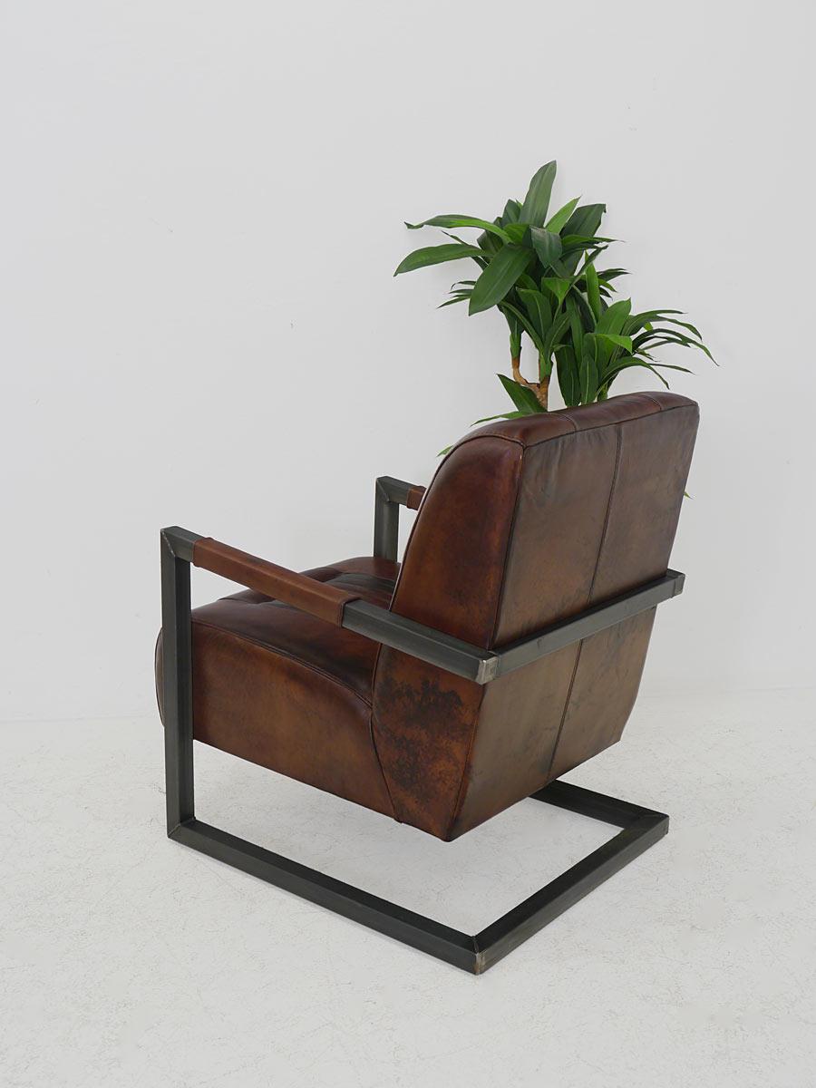 Rückseite des Sessels
