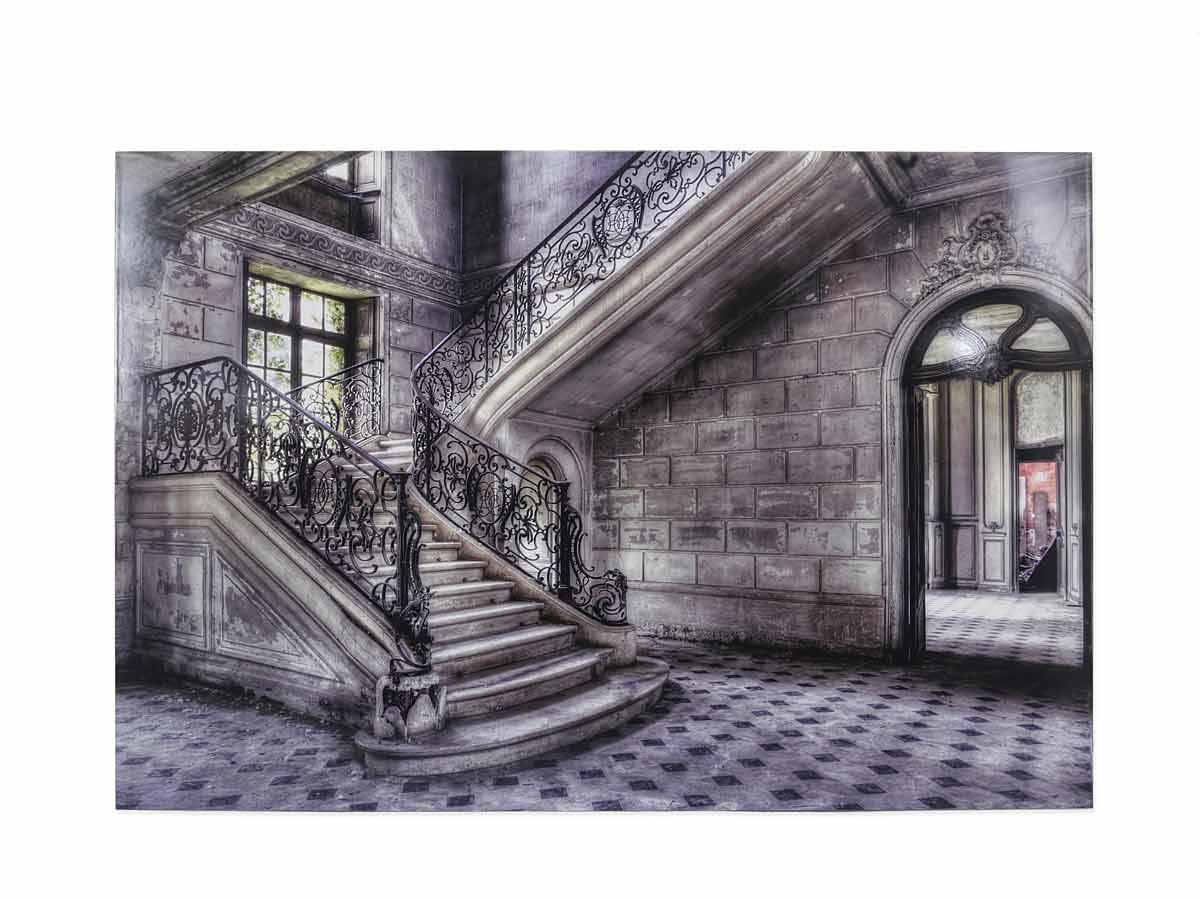 Wandbild Dibond Lacour Motiv Treppe