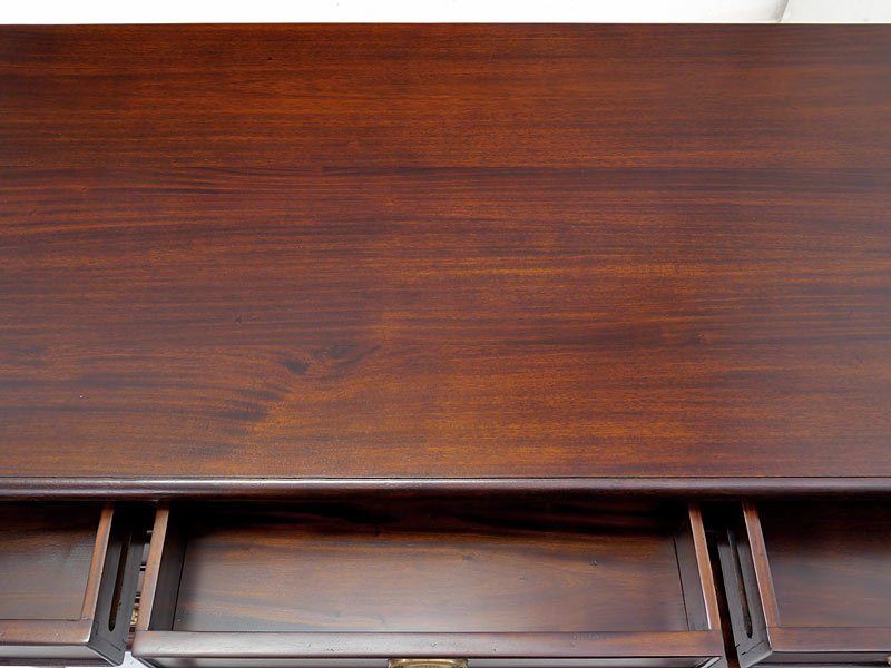 Schreibtischfläche Draufsicht