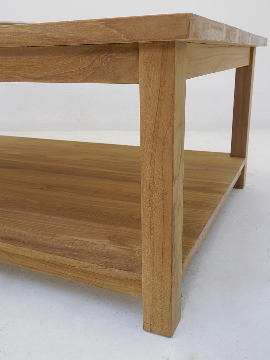 tisch couchtisch wohnzimmertisch mediterraner stil teakholz massiv 120x80 4998 m bel tische. Black Bedroom Furniture Sets. Home Design Ideas