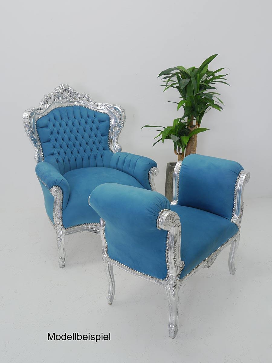 Modellbeispiel Sessel mit Hocker