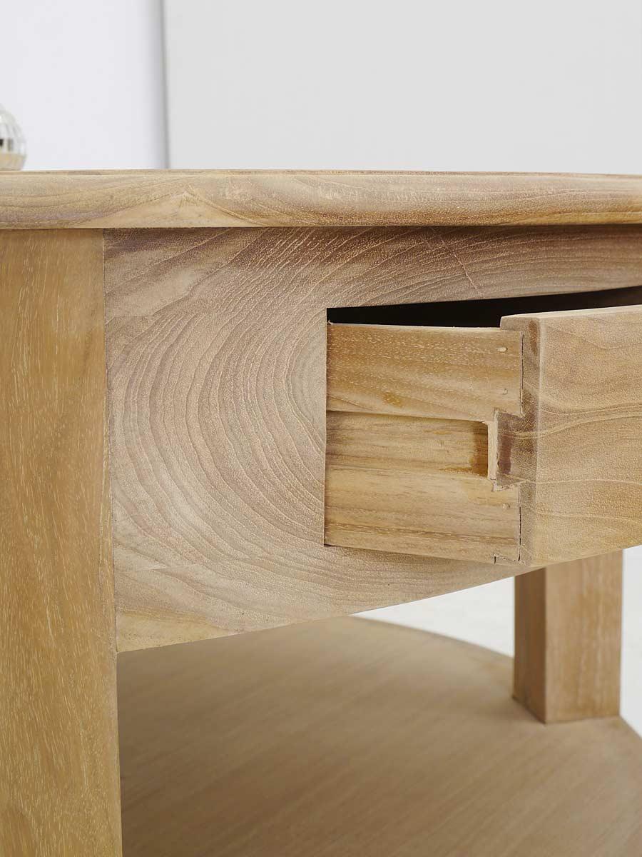 couchtisch wohnzimmertisch tisch mediterraner stil teakholz 1 m 5249 m bel tische couchtische. Black Bedroom Furniture Sets. Home Design Ideas