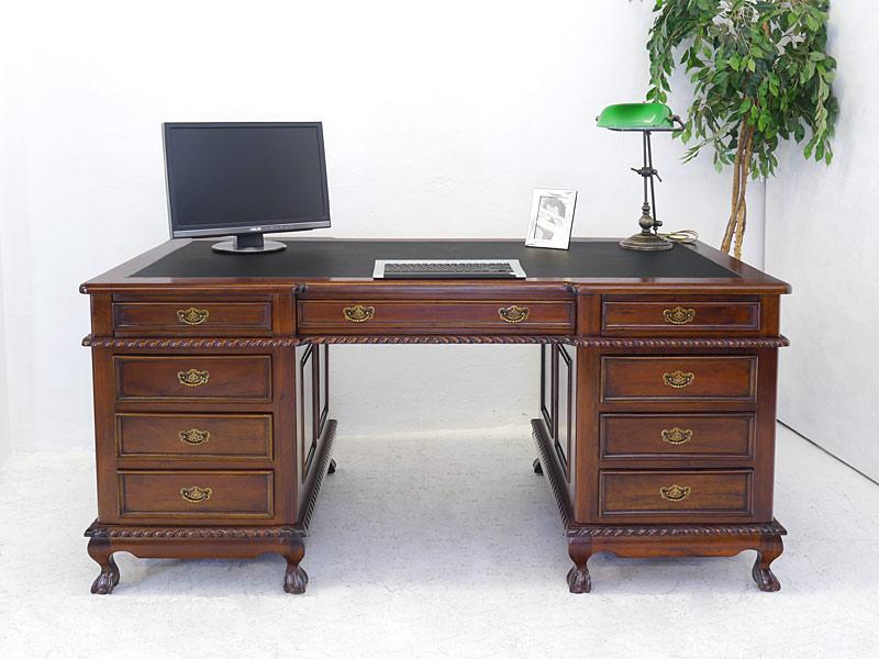 Schreibtisch mit 9 Schubladen