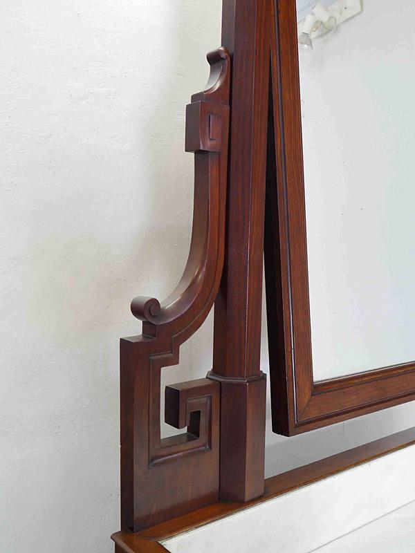 Detailansicht vom Spiegelhalter