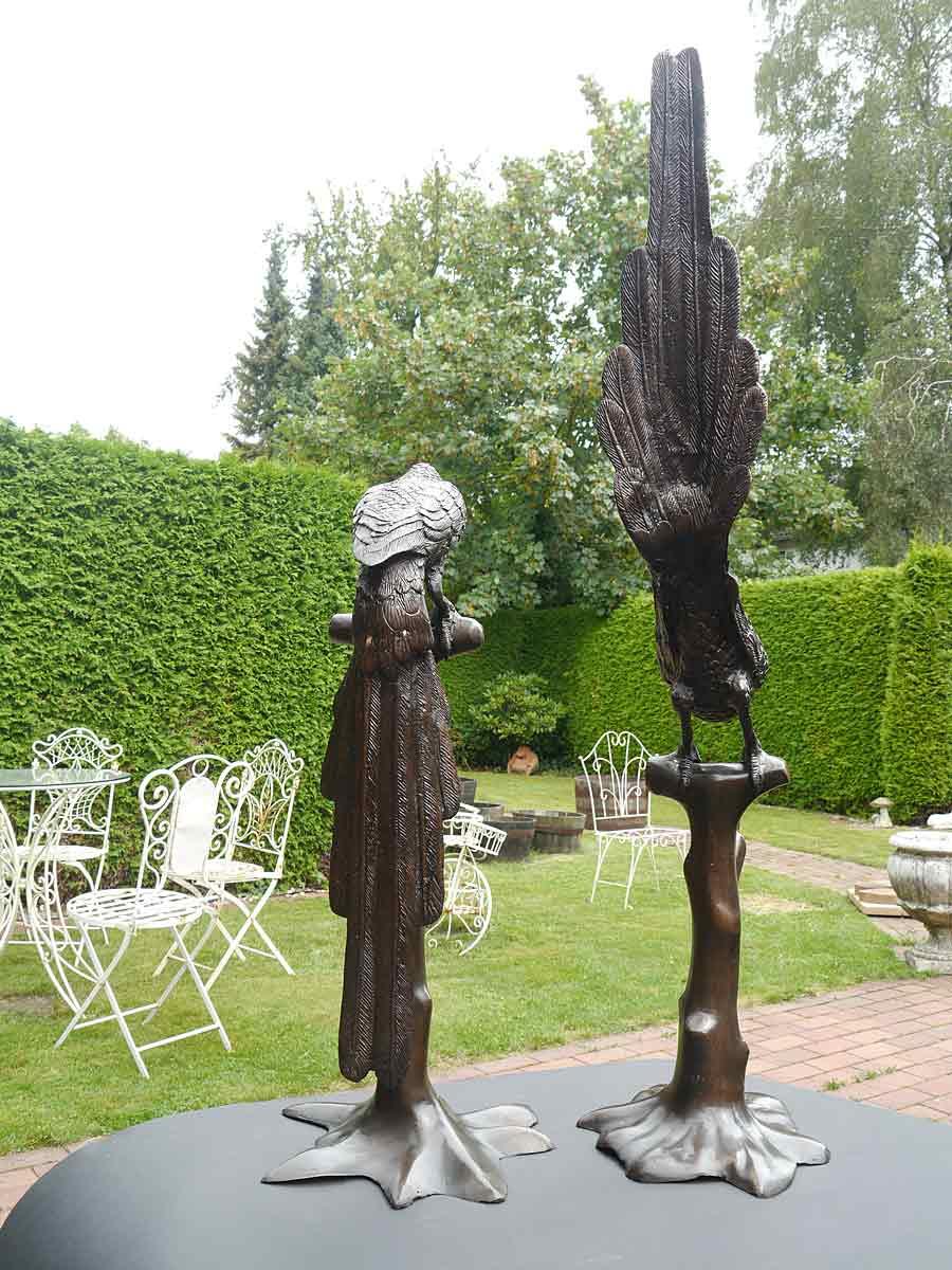 Skulptur mit Liebe zum Detail