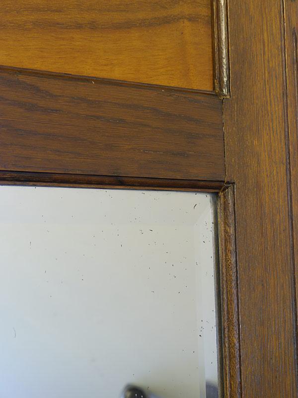 Spiegel wandspiegel antik um 1930 aus eiche 5487 spiegel for Artikel spiegel