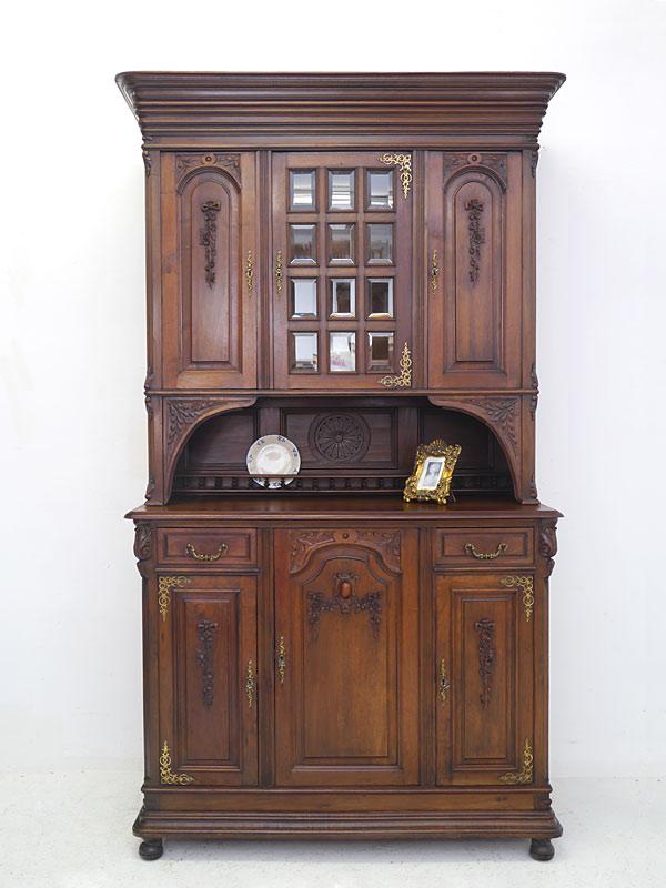 buffetschrank k chenschrank schrank antik historismus um. Black Bedroom Furniture Sets. Home Design Ideas