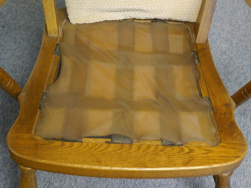 Detailansicht Sitzfläche