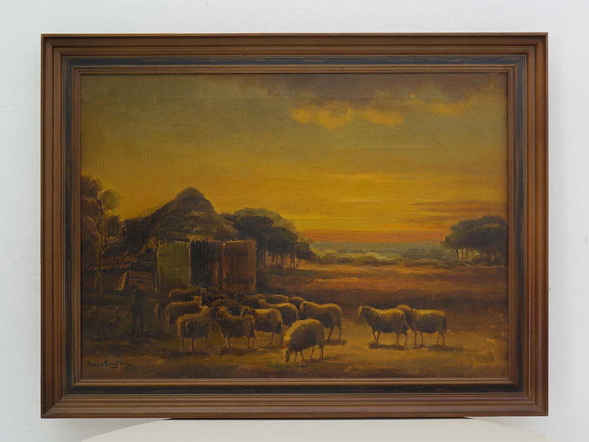 Niederländischer Maler Jaap v. Kregten