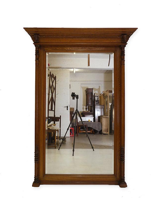 Spiegel wandspiegel garderobenspiegel gr nderzeit um 1880 for Spiegel 01 18