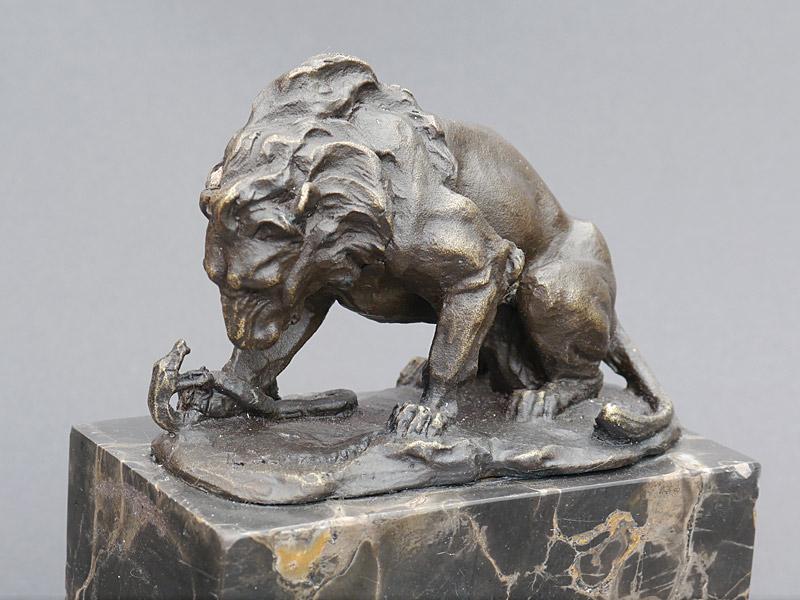 Detailaufnahme der Skulptur