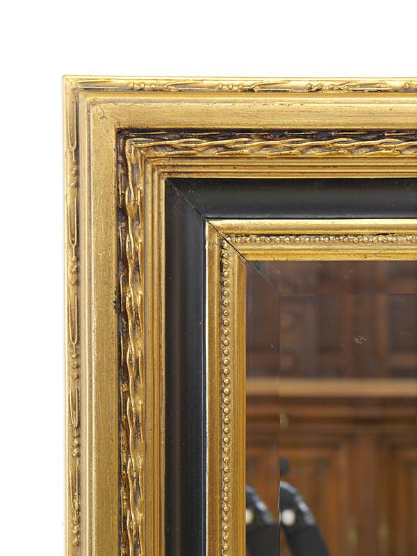 spiegel wandspiegel garderobenspiegel im antiken stil gold schwarz 30x40 5678 ebay. Black Bedroom Furniture Sets. Home Design Ideas