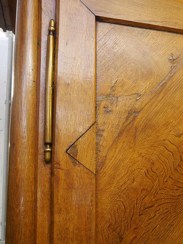 Detailansicht von der Tür