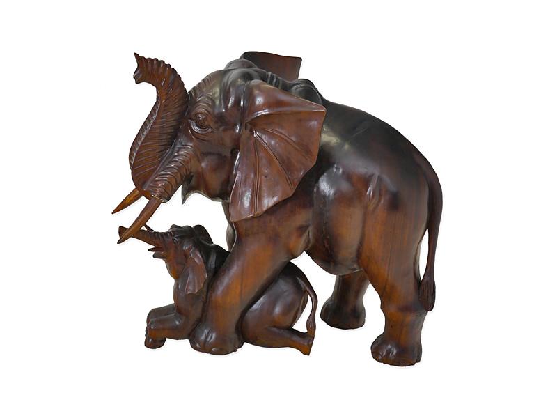 Elefanten Muttertier mit Junges