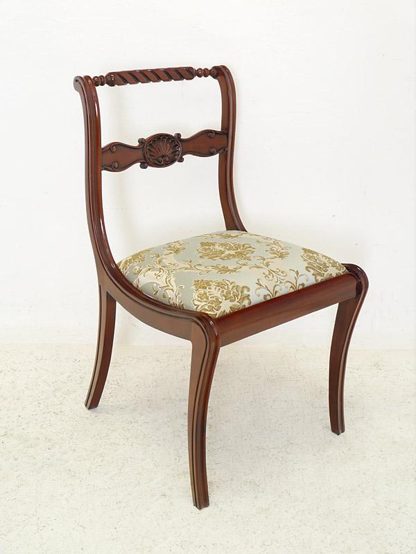 stuhl lehnstuhl sitzm bel mahagoni mit polsterung im. Black Bedroom Furniture Sets. Home Design Ideas