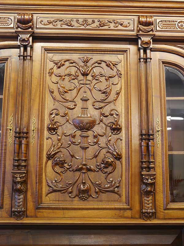 Detailansicht von der Türfront