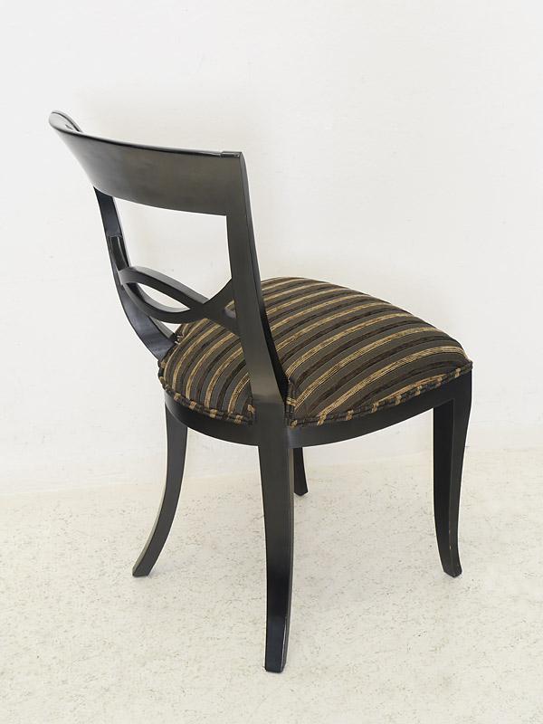 stuhl lehnstuhl sitzm bel massivholz in schwarz mit. Black Bedroom Furniture Sets. Home Design Ideas