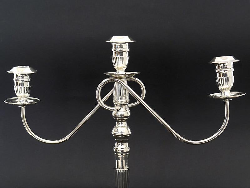Detailansicht von den Kerzenhalter