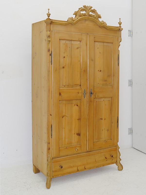 Kleiderschrank Louis Philippe um 1870