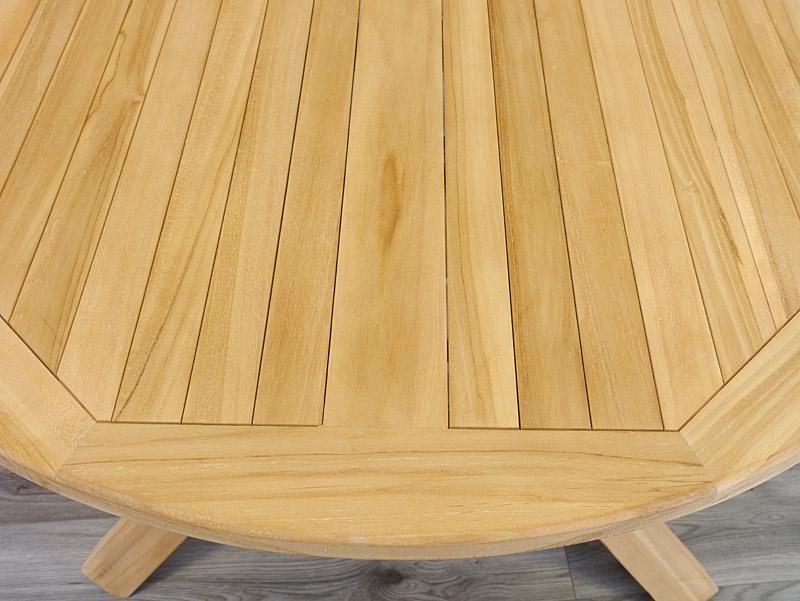 Detailansicht von der Tischoberfläche