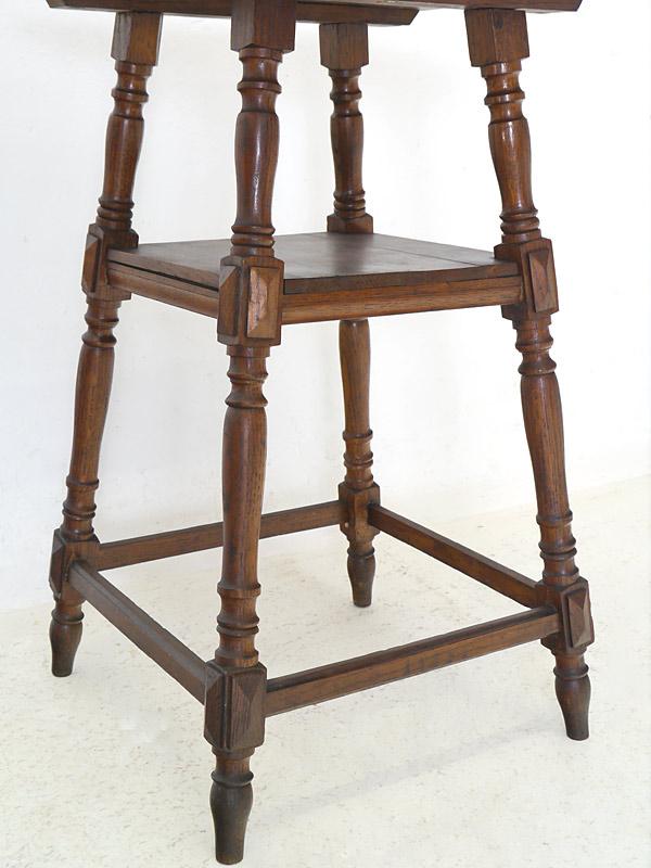 tisch beistelltisch telefontisch blumentisch gr nderzeit um 1880 eiche 6048 m bel tische. Black Bedroom Furniture Sets. Home Design Ideas