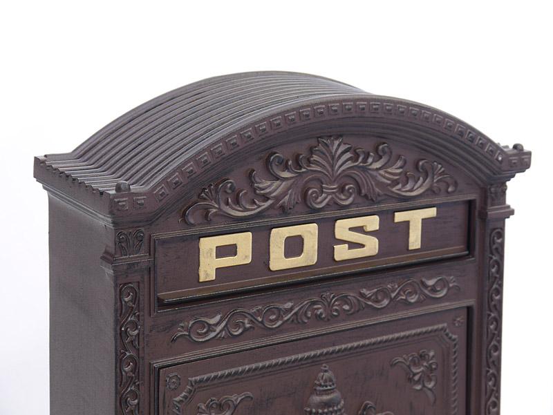 Nahaufnahme von dem Briefkasten